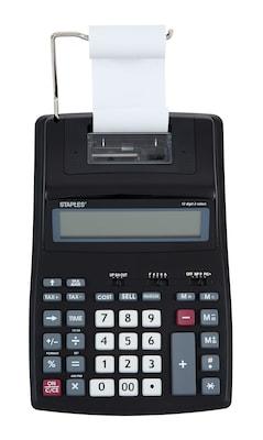 12 Digit Display Printing Calculator