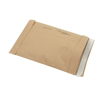 Self-Seal Padded Mailers, #1, 7-1/8 x 10-3/4