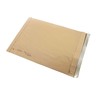 Self-Seal Padded Mailers, #6, 12-3/8 x 17-3/4, 25/PK
