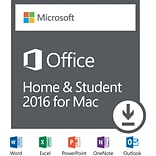 Office Home & Student 2016 for Mac -1 User