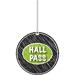 Black Scribble Hall Pass