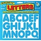 "1-3/4"" Magnetic Letters, Blue"