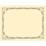 Arabesque Border Paper, Black