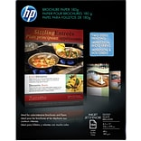 HP Professional Inkjet Brochure Paper, 8 1/2 x 11, Glossy, 150/Pack