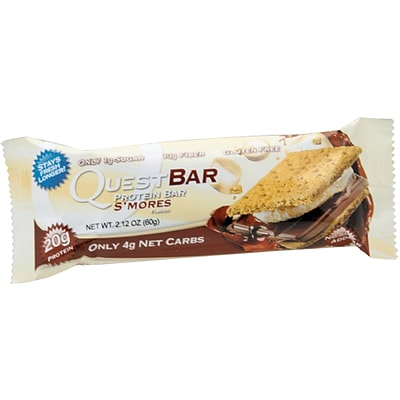 Quest Nutrition Protein Bar, Smores, 12/Bx