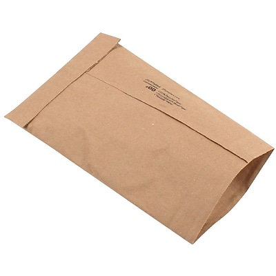 Ungummed Padded Mailers, #00, 4-3/8 x 8-3/4