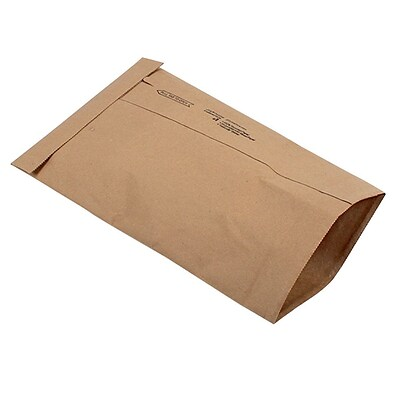 Ungummed Padded Mailers, #1, 7-1/8 x 10-3/4