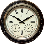 Infinity Instruments 16 Wall Clock, The Forecaster