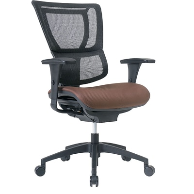 Quill Brand® Professional Series 1500TF Mesh Back Chair, Bark
