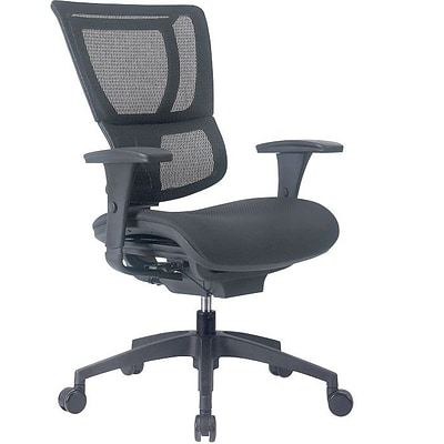 Quill Brand® Professional Series 1500TF Mesh Back Chair, Ebony