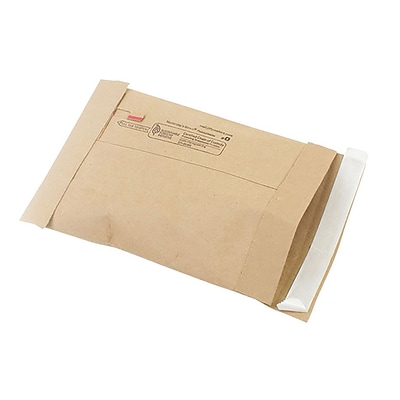 Self-Seal Padded Mailers, #0, 5-7/8 x 8-3/4
