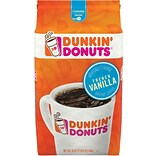 Dunkin Donuts® French Vanilla Ground Coffee, Medium Roast, 20 oz. Bag (8133400680)