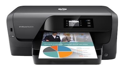 HP® OfficeJet Pro 8210 Wireless Single-Function Color Inkjet Printer