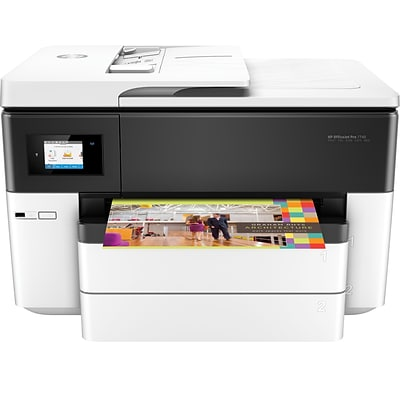 HP® OfficeJet Pro 7740 Color All-in-One Inkjet Wide Format Printer with Wireless & Mobile Printing