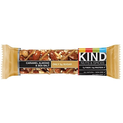 KIND Caramel Almond & Seasalt bar ; 12 count