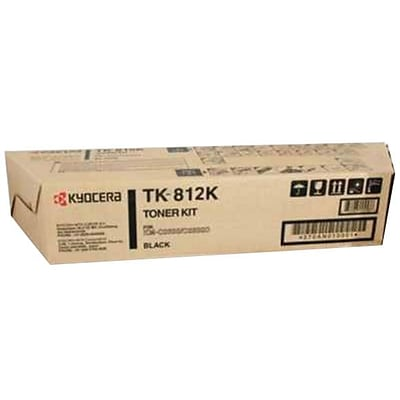 Kyocera/TK-812K/Black Toner Cartridge (KYOTK812K)