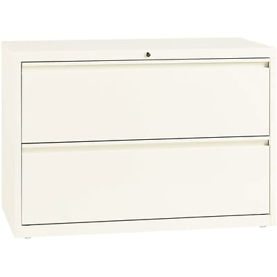 Lorell 42 Lateral File, 42 x 18 x 28, 2 x Drawer for File