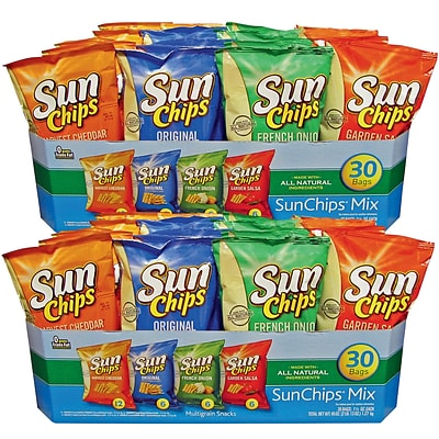 Frito Lay® Sunchips® Variety Pack, 1.5 oz. Bags, 60 Bags/Box