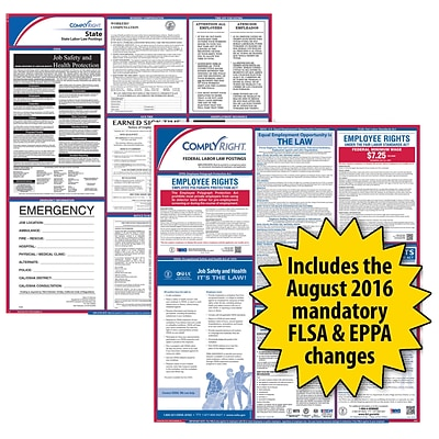 ComplyRight™ Federal & State Labor Law Poster Kit; Ohio