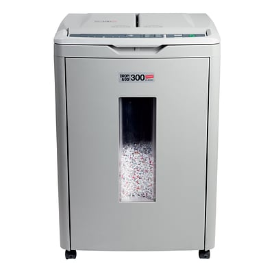 Staples 300 Sheet Micro-Cut Drop & Go Shredder