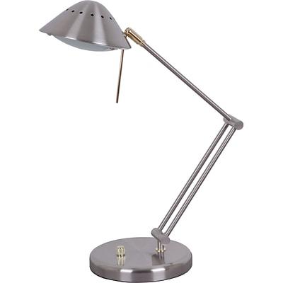 Tensor Halogen Desk Lamp, Brushed Steel