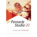 Pinnacle Studio 20 Standard for Windows (1 User) [Download]