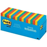 Post-it® Notes, 3 x 3, Jaipur Collection, 18 Pads/Cabinet Pack