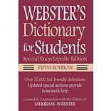 Merriam Websters Dictionary/Thesaurus for Students Set, Paperback (9781596951693)