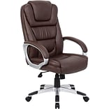 Brown B8601 Series Leather Executive Chair
