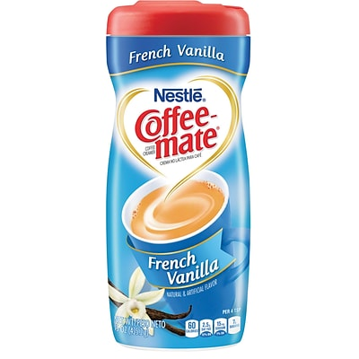 Nestle® Coffee-mate® Coffee Creamer, French Vanilla, 15 oz Powder Creamer, 1 Canister