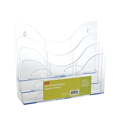 3-Tier Organizer, Clear
