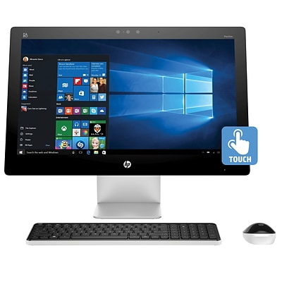 Refurbished HP Pavilion 23in Touch All-in-One PC Core i3 8GB RAM 1TB HDD Windows 10