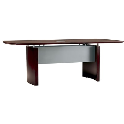 Tiffany Industries™ Napoli Executive Conference Tables in Mahogany; 6