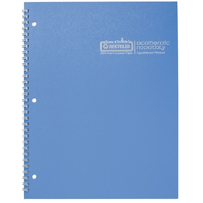 2017-2018 House of Doolittle Academic Monthly Planner, Bright Blue, 8.5 x 11