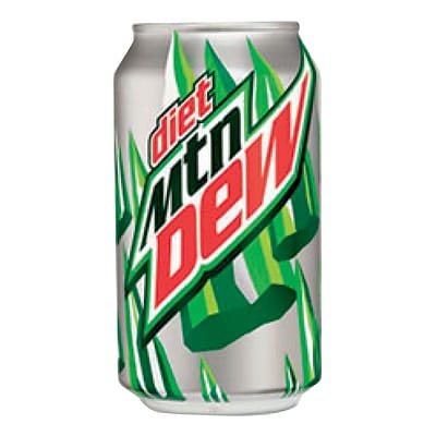 Diet Mountain Dew®, 12 oz. Cans, 24/Pack