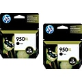 HP 950XL (CR317BN) High Yield Black Ink Cartridge Multi-pack (2 cart per pack)