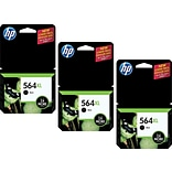 HP 564XL (CR305BN) High Yield Black Ink Cartridge Multi-pack (3 cart per pack)