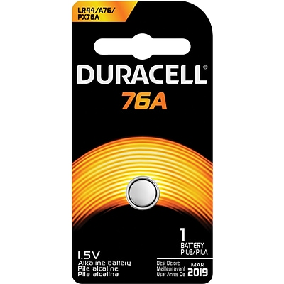 Duracell® Alkaline Battery, 1.5V, 1-Pack