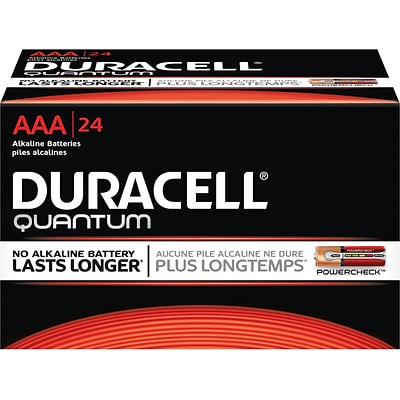 Buy 1 Pack of Duracell® Quantum AAA Batteries, Get 1 Pack 50% Off
