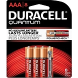Duracell® Quantum AAA Batteries; 8-Pack