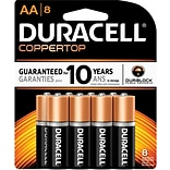 Duracell Alkaline AA Batteries 8-Pack