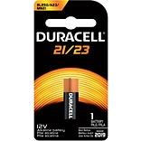 12V A23 Alkaline Battery; 1-Pack
