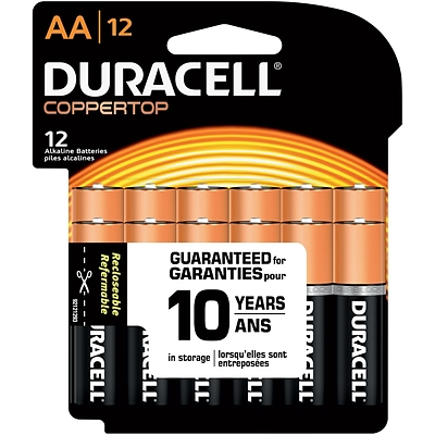 Duracell® Alkaline AA Batteries, 12-Pack