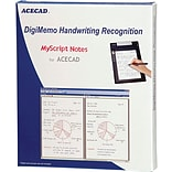ACECAD DigiMemo Handwriting Recognition Software