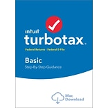 TurboTax Basic 2016 for Mac (1 User) [Download]