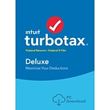 TurboTax Deluxe 2016 for Windows (1 User) [Download]
