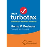 TurboTax Home & Business 2016 for Mac (1 User) [Download]