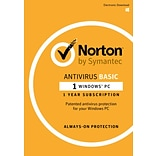 Norton AntiVirus Basic for Windows (1 User) [Download]