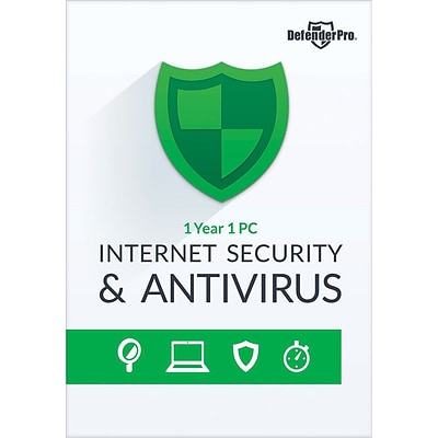 Bling Defender Pro Internet Security & Antivirus 1YR 1 PC for Windows (1 User) [Download]