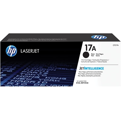 HP 17A Black Standard Yield Toner Cartridge